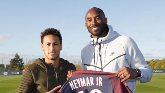 Neymar จ่ายเงินชดเชยให้ Kobe Bryant
